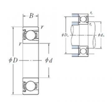 NSK BL 308 Z deep groove ball bearings