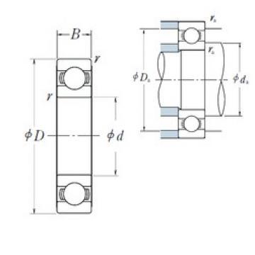 NSK 6008 deep groove ball bearings