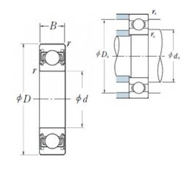 NSK 6816VV deep groove ball bearings