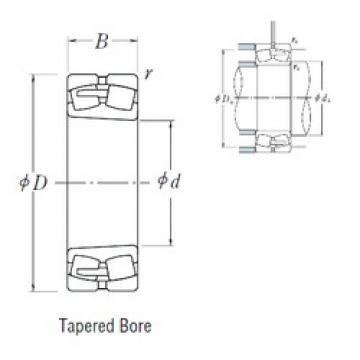 NSK 23938CAKE4 spherical roller bearings