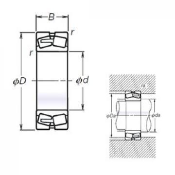 NSK TL23260CAE4 spherical roller bearings