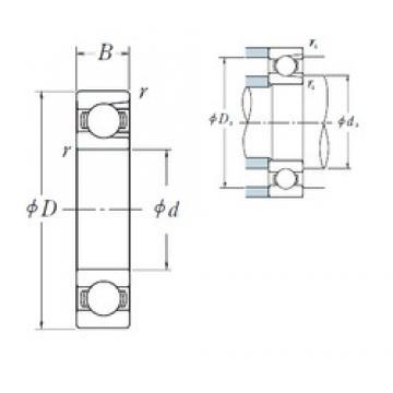 NSK BL 207 deep groove ball bearings