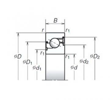 NSK 17TAC47BDDG thrust ball bearings