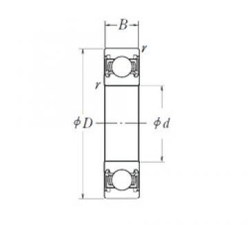 NSK 63/32DDU deep groove ball bearings