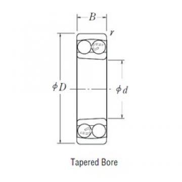 NSK 1305 K self aligning ball bearings