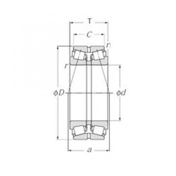 NTN 432319U tapered roller bearings