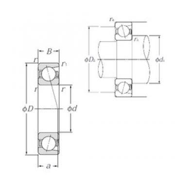 NTN 7913C angular contact ball bearings