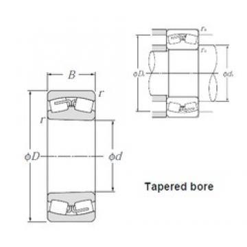 NTN 23052BK spherical roller bearings