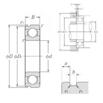 NTN 6218N deep groove ball bearings