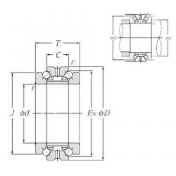 NTN 562036M thrust ball bearings