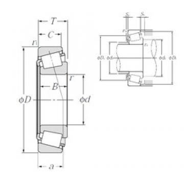NTN 30217U tapered roller bearings
