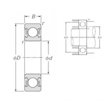 NTN 6011LLB deep groove ball bearings