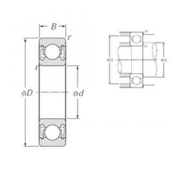 NTN 6006ZZ deep groove ball bearings