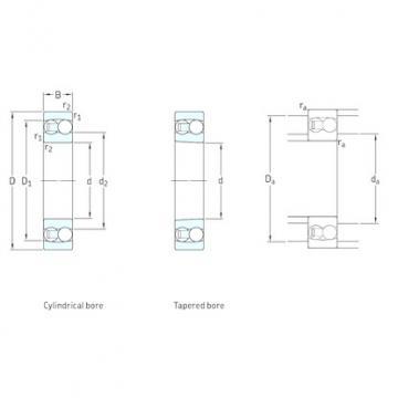 SKF 1215 self aligning ball bearings