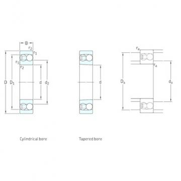 SKF 1217K self aligning ball bearings