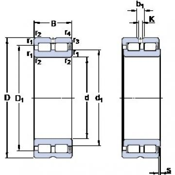 SKF NNCF 4920 CV cylindrical roller bearings