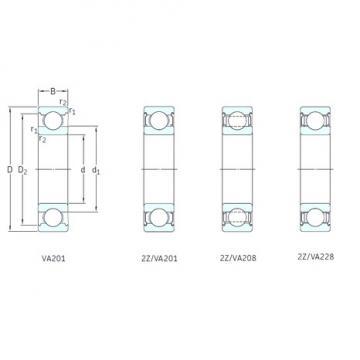 SKF 6005/VA201 deep groove ball bearings