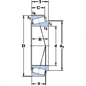 SKF 30217 J2/Q tapered roller bearings