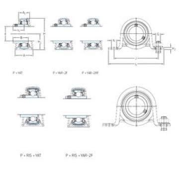 SKF P 80 R-1.1/4 TF bearing units