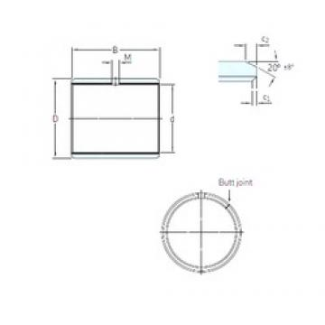 SKF PCZ 1012 E plain bearings