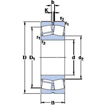 SKF 21319 E spherical roller bearings