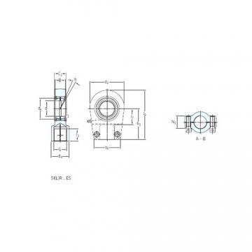 SKF SIR 120 ES plain bearings