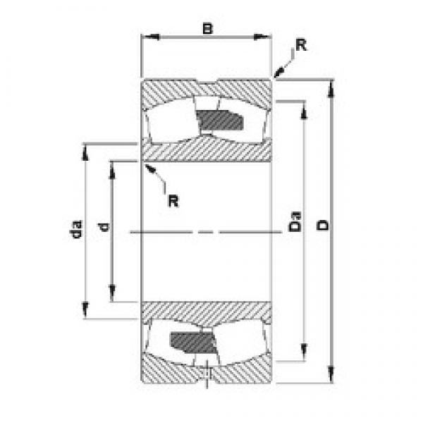 Timken 23134YM spherical roller bearings #1 image
