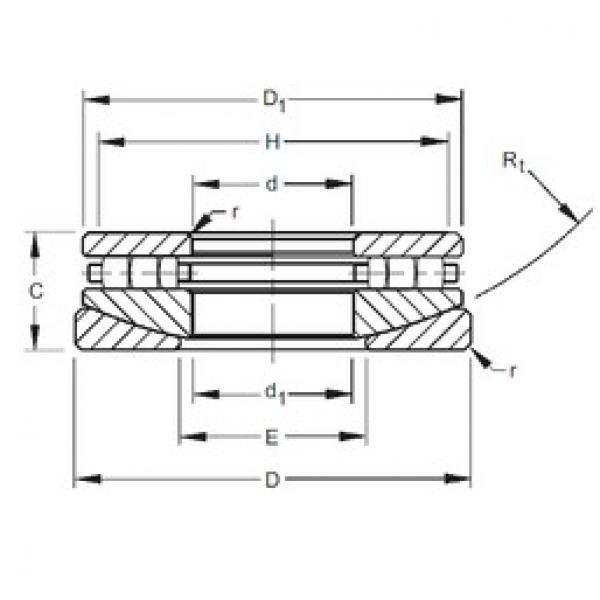 Timken 50TPS122 thrust roller bearings #1 image