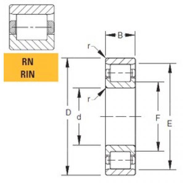 Timken 40RIN133 cylindrical roller bearings #1 image