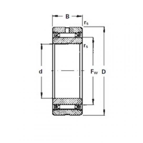 Timken NA2140 needle roller bearings #1 image