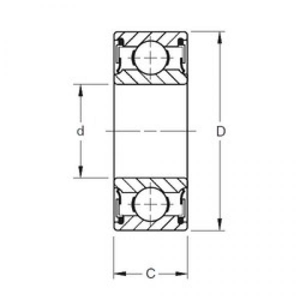 Timken W313PP deep groove ball bearings #1 image