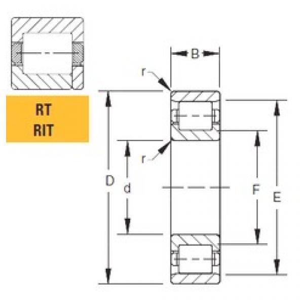 Timken 160RT30 cylindrical roller bearings #1 image