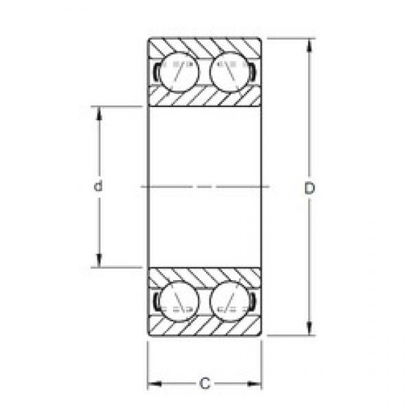 Timken 5217 angular contact ball bearings #1 image