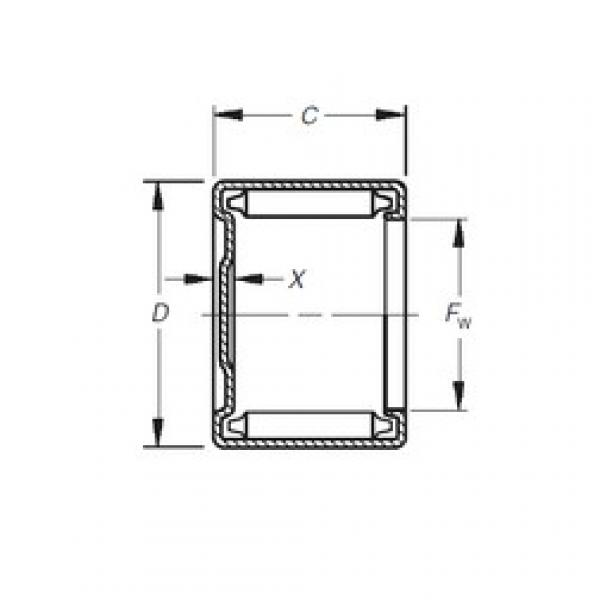Timken MH-1681 needle roller bearings #1 image