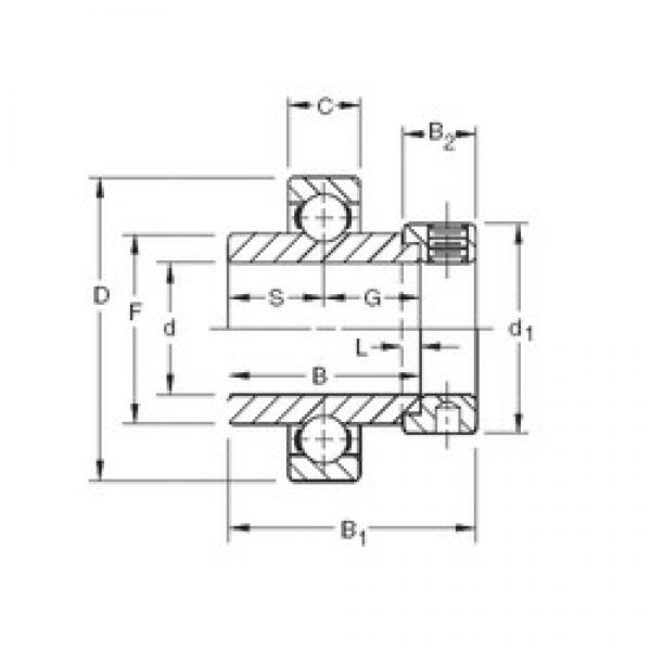 Timken SM1104K deep groove ball bearings #1 image