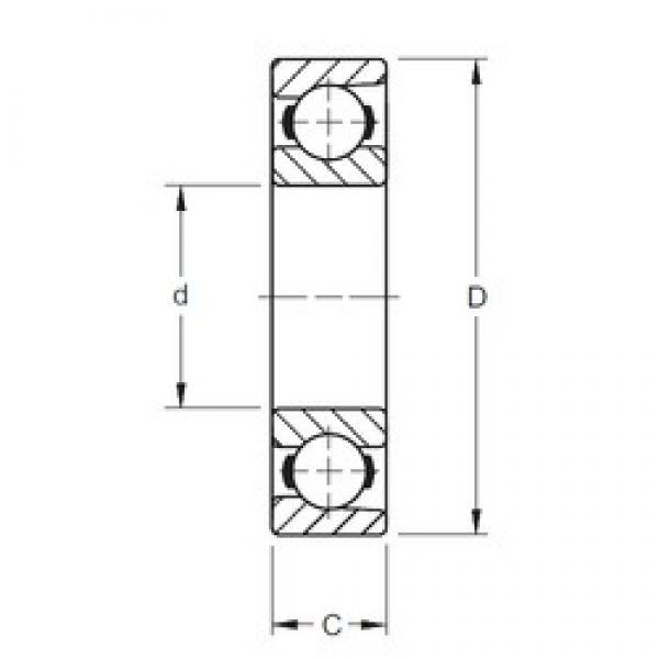 Timken 100BIH439 deep groove ball bearings #1 image
