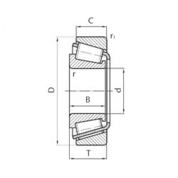 Timken NP811212-90KA1 tapered roller bearings #1 image
