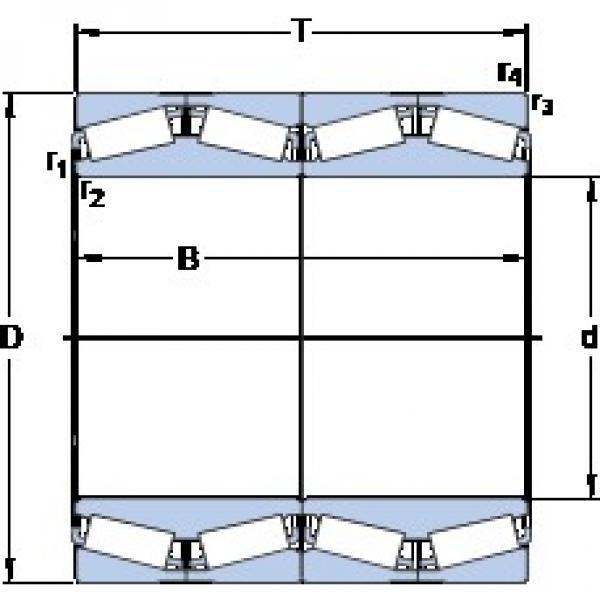 SKF BT4B 331968 BG/HA1 tapered roller bearings #1 image