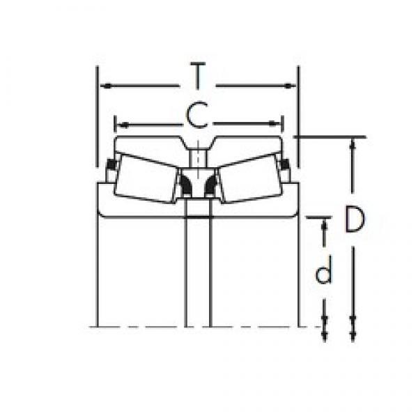 Timken 28156/28318D tapered roller bearings #1 image