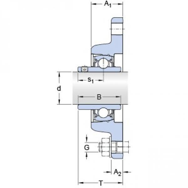 SKF FYT 55 TF/VA228 bearing units #1 image