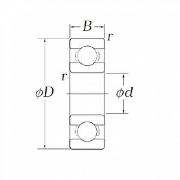KOYO OB72 deep groove ball bearings #1 image