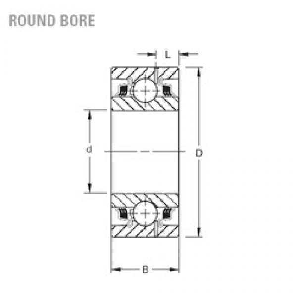 Timken GW214PP2 deep groove ball bearings #1 image
