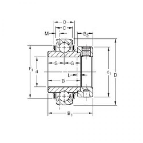 Timken GN200KRRB deep groove ball bearings #1 image