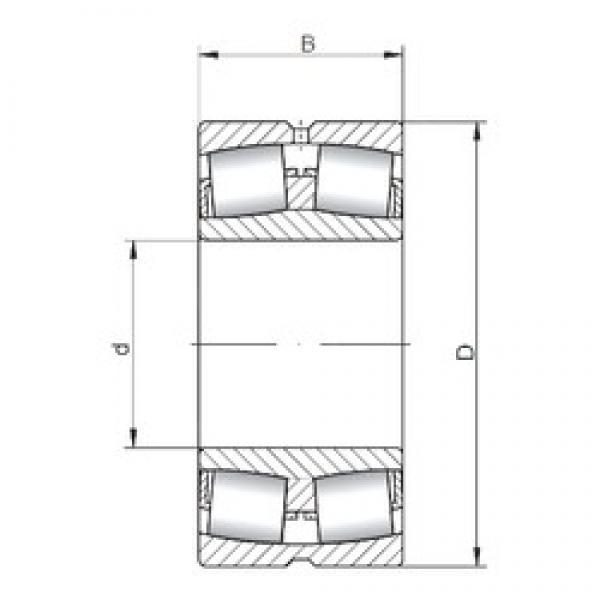 ISO 22215W33 spherical roller bearings #1 image
