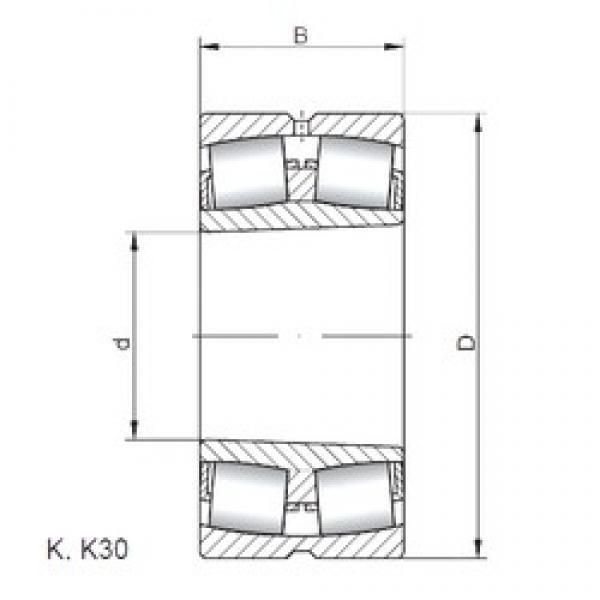 ISO 22218 KW33 spherical roller bearings #1 image