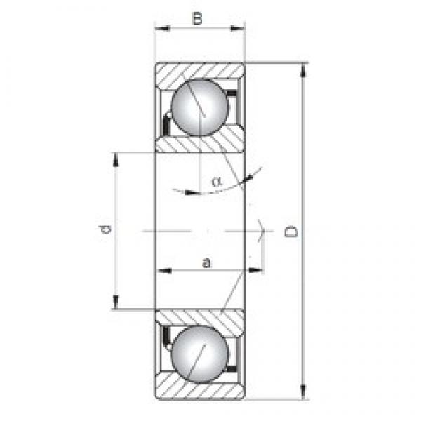 ISO 7005 C angular contact ball bearings #1 image
