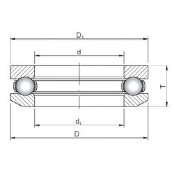 ISO 53317 thrust ball bearings #1 image