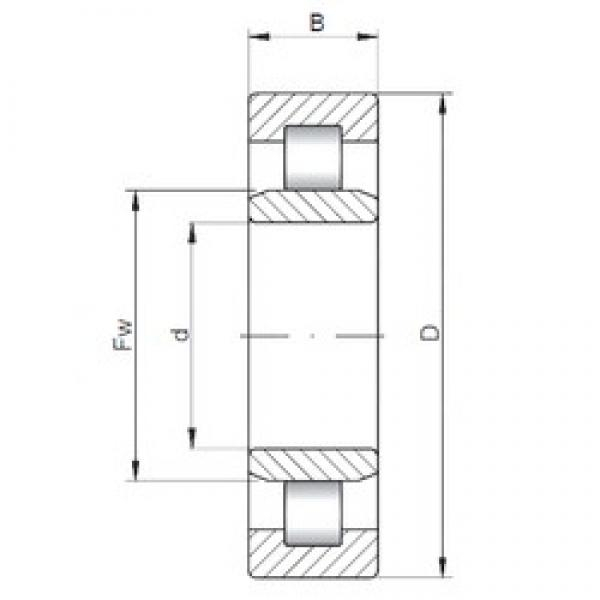 ISO NU421 cylindrical roller bearings #1 image