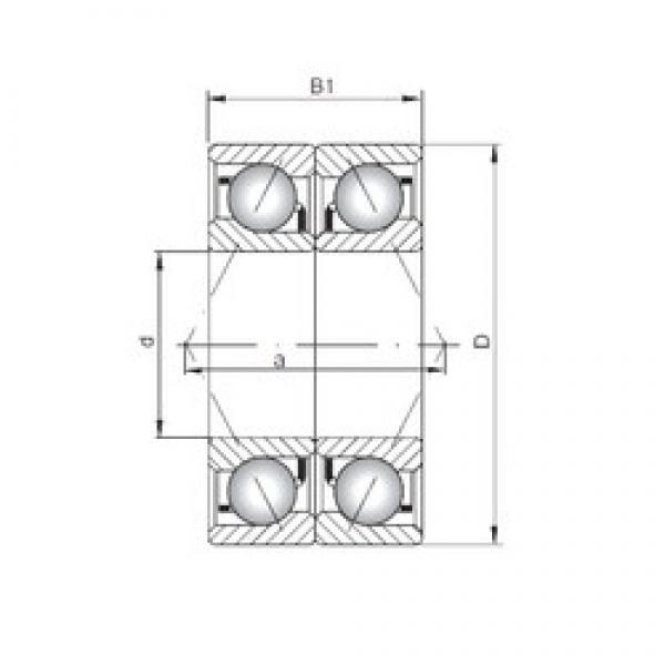 ISO 7318 ADB angular contact ball bearings #1 image