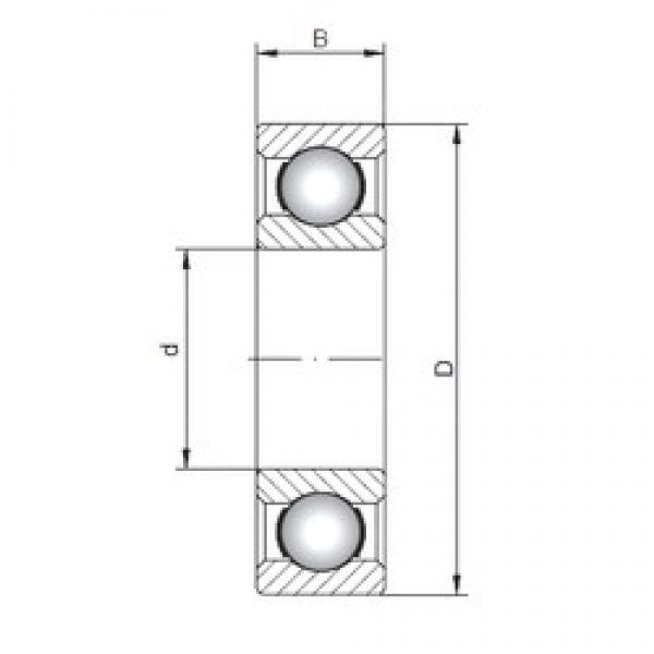 ISO 6280 deep groove ball bearings #1 image